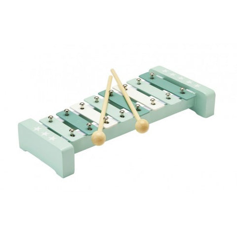 Mint Xylophone in Wood and Metal