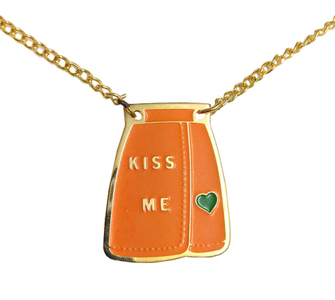 Vintage Necklace | Kiss Me Skirt