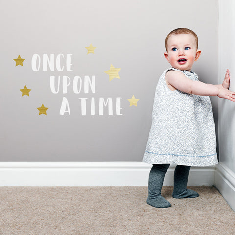 Once upon a time Wall Sticker - Mermaids & Monsters