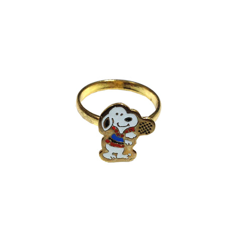 Vintage Snoopy Ring | Tennis Player
