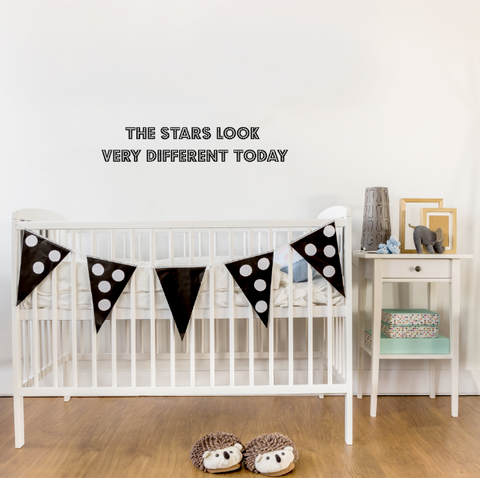 The Stars Look Different Today Wall Sticker - Mermaids & Monsters