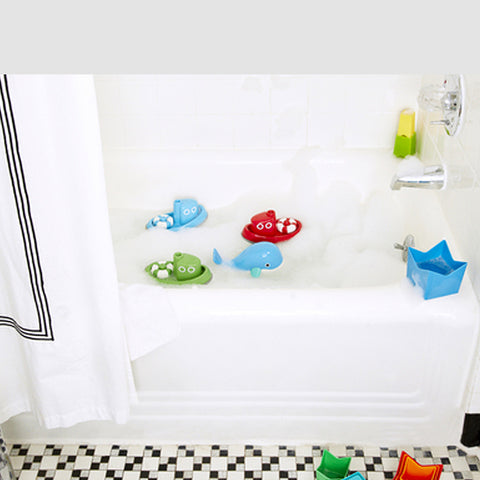Red Tug Boat Bath Toy