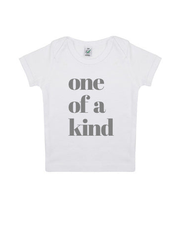 Baby 'One of a Kind' Organic T-Shirt | White