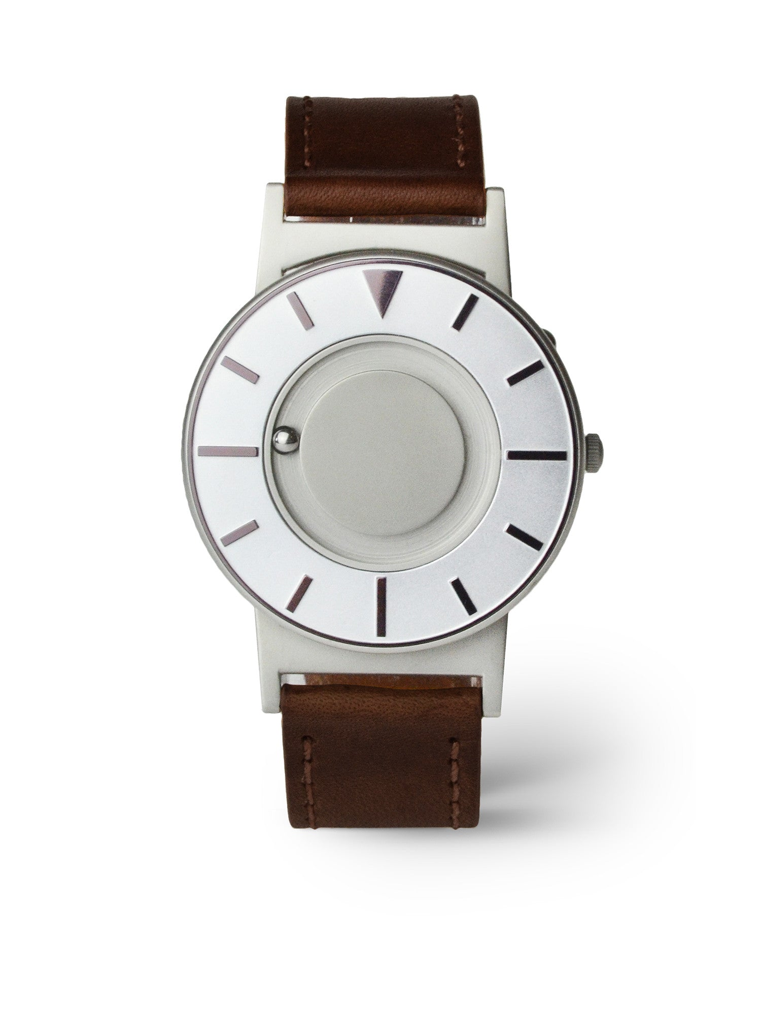 Bradley Iris Leather Wood