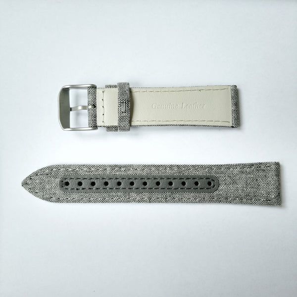 Bradley Compass Watch Canvas & Leather Wristband Gift Set
