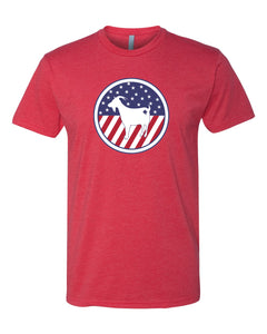 OneGoat Stars and stripes T-shirt - Men's