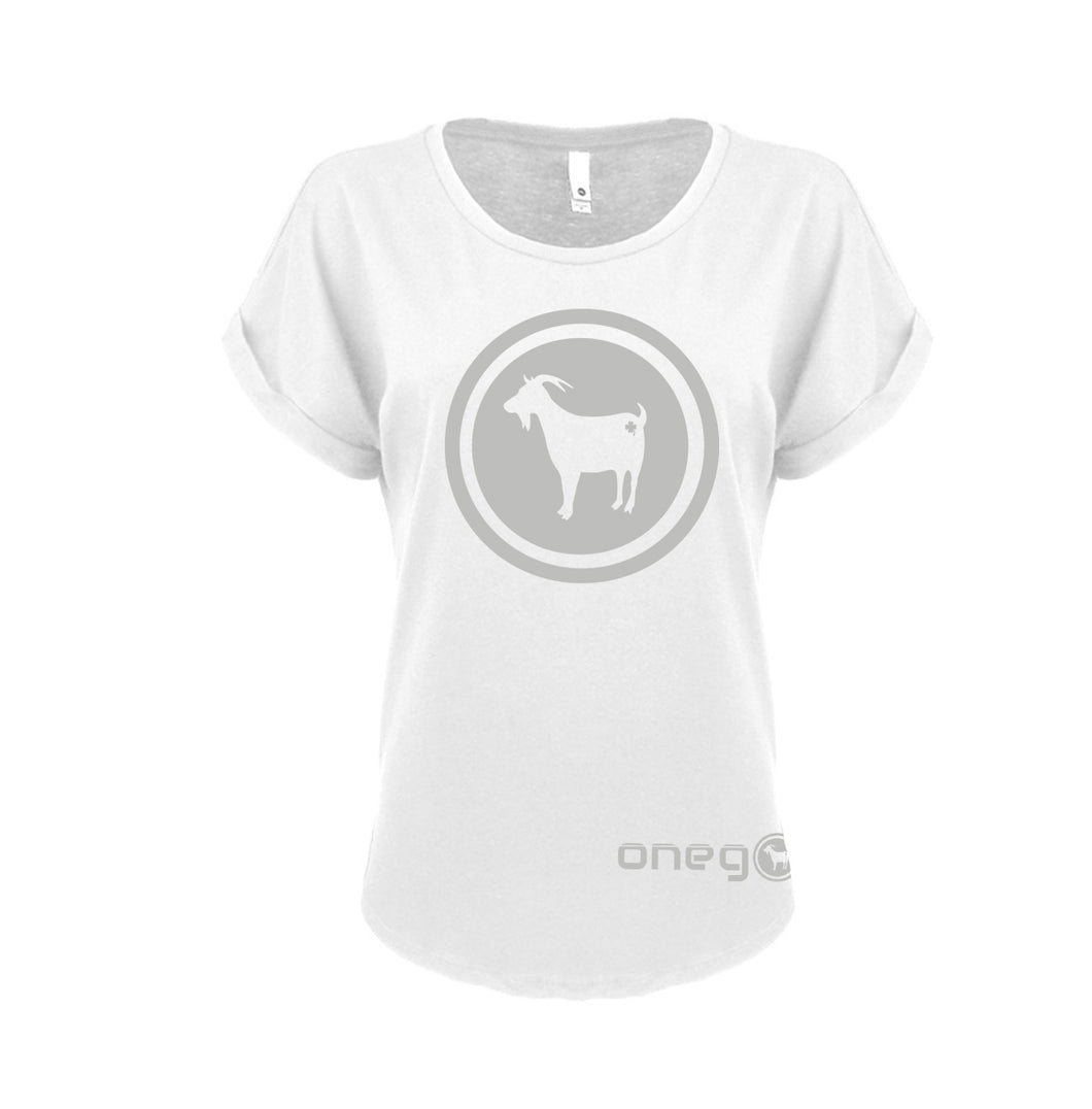 OneGoat Women's Roll Sleeve