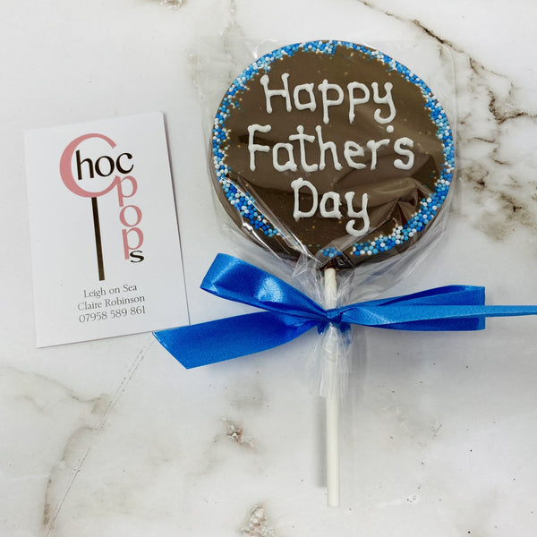 Father's Day Sweet Box and Large Choc Pop