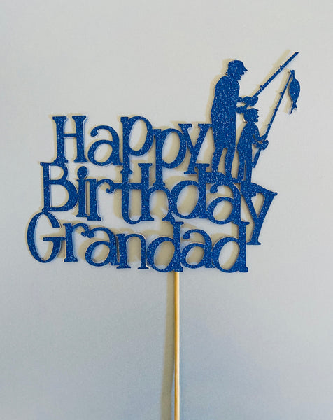 Personalised cake toppers - words and images