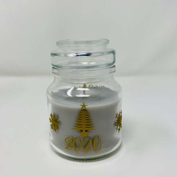 Personalised Christmas Mini Candle