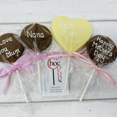Mother's Day Large Heart shape Choc Pop