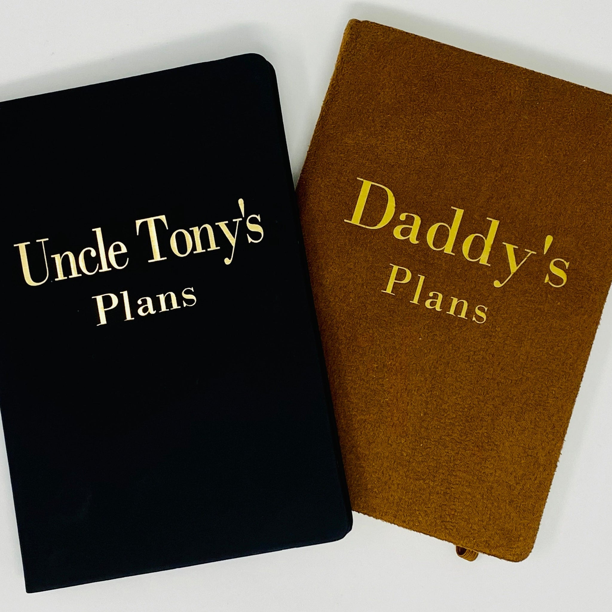 Personalised A5 note books