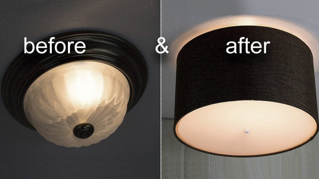 How To Install Modern Ceiling Light Cover Conversion Kits