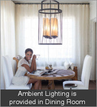 Ambient Lighting in Dining Room