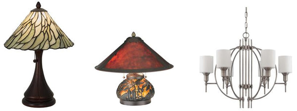 Art Nouveau Tiffany- Mica- Art Deco Arts and Crafts Lighting