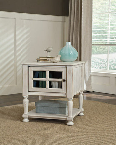 Mirimyn Chair Side End Table White