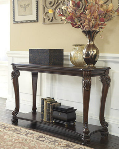 Norcastle Sofa Table Dark Brown