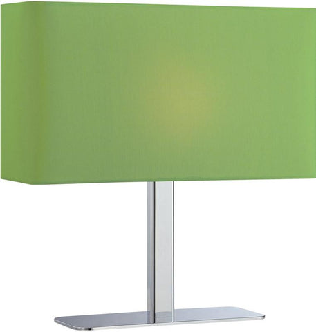Levon 1-Light G Table Lamp Chrome/Green