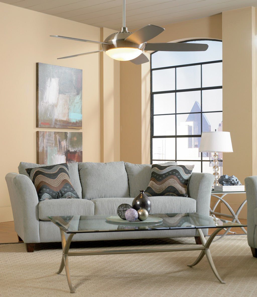 living room ceiling fan with lights