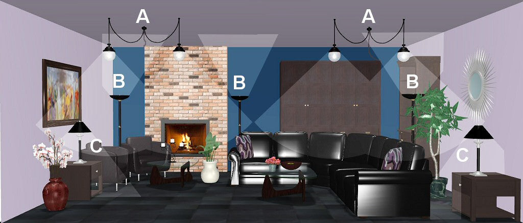 living room lighting design plan 10