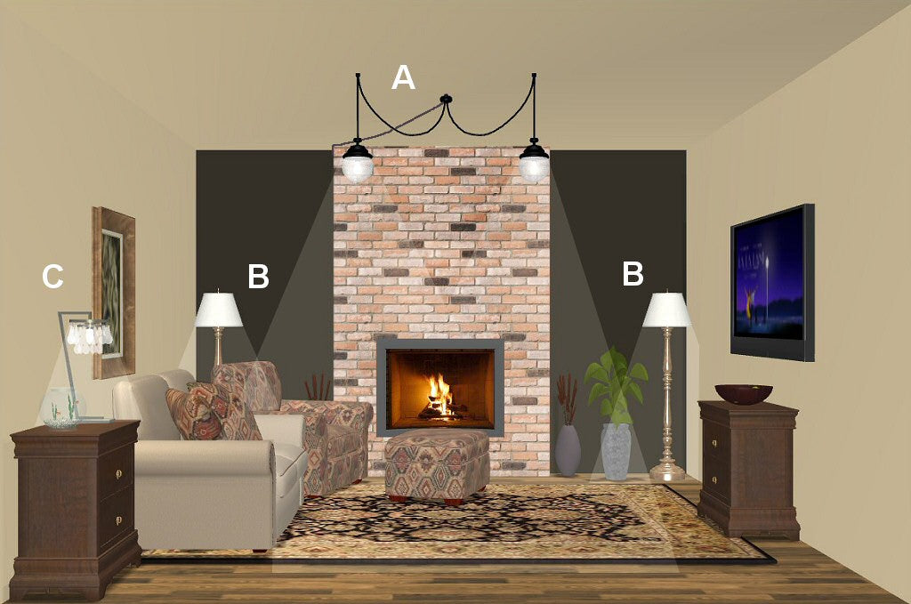 living room lighting design plan 3