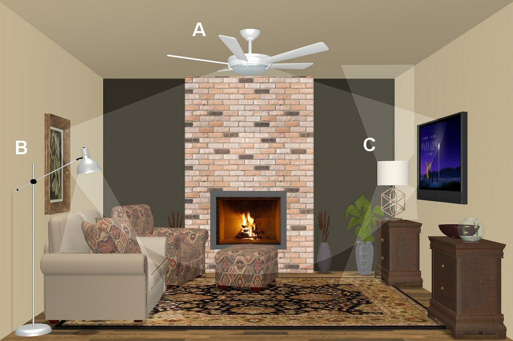 Lovely Colorful Country Wooden Leaf Iron Led Ceiling Fan With Remote Control For Bedroom Childrens Room Dining Room 2203 Ceiling Fans