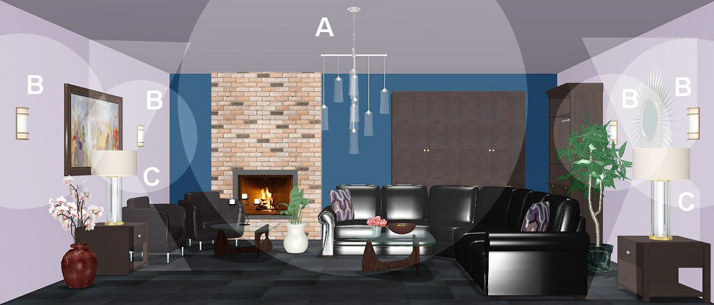 living room lighting design plan 6