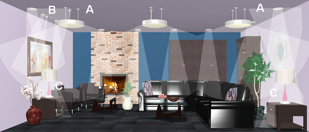 living room lighting design plan 8
