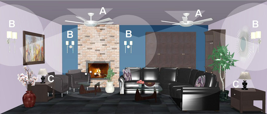 living room lighting design plan 9