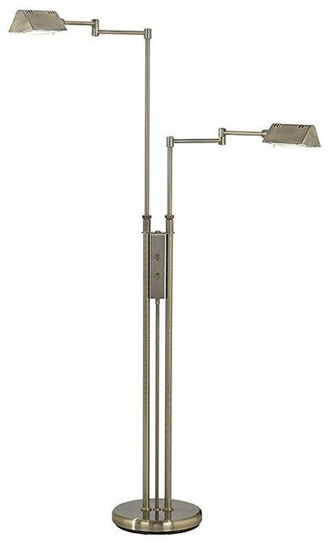 living room swing arm pharmacy floor lamps