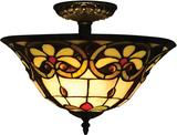 Tiffany Flush Mount Lighting