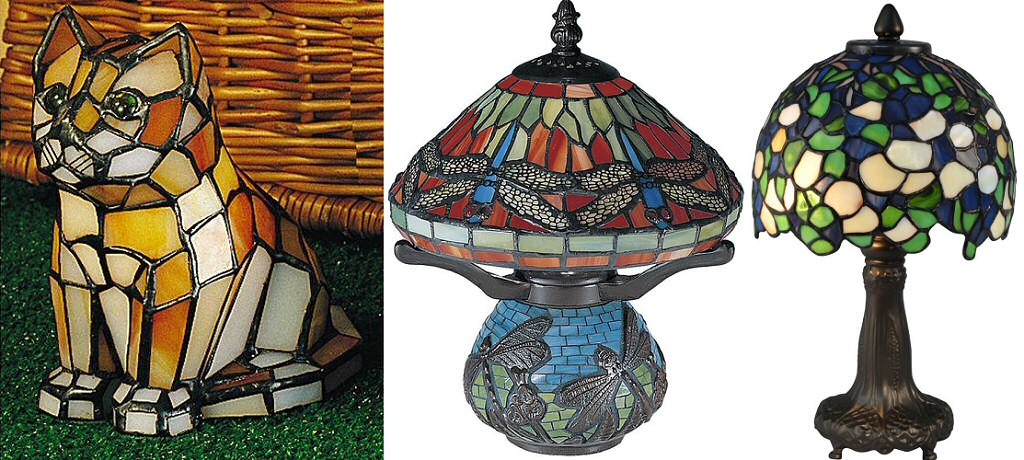 tiffany accent lamps