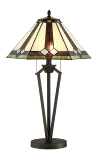 Lite Source Lance 2-light Table Lamp Dark Bronze