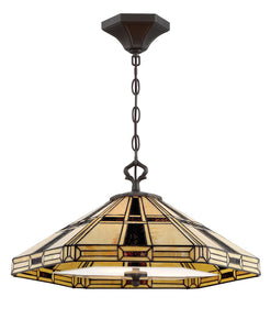 Mircea 3-light Pendant Dark Bronze