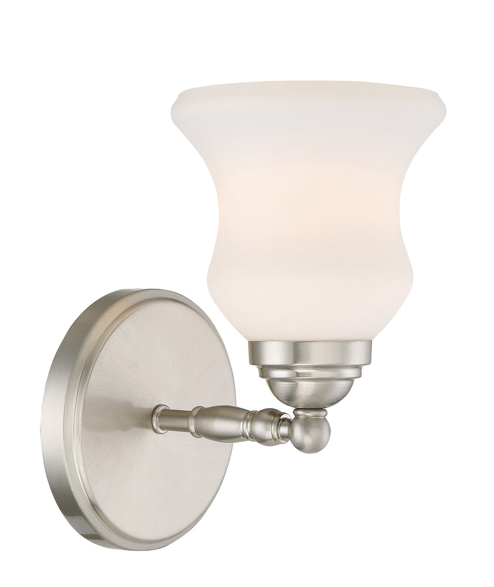 "6""W Faina 1-light Wall Lamp Brushed Nickel"