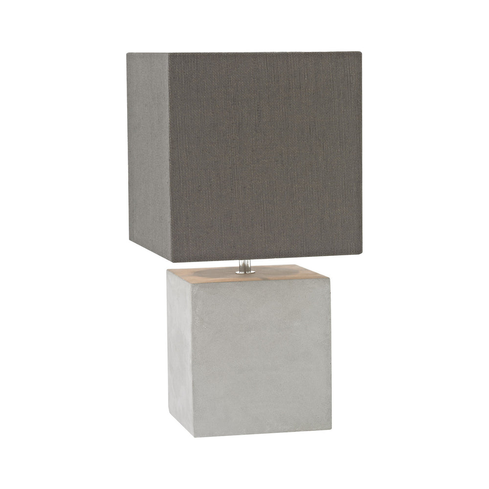 1-Light Brocke Table Lamp Polished Concrete