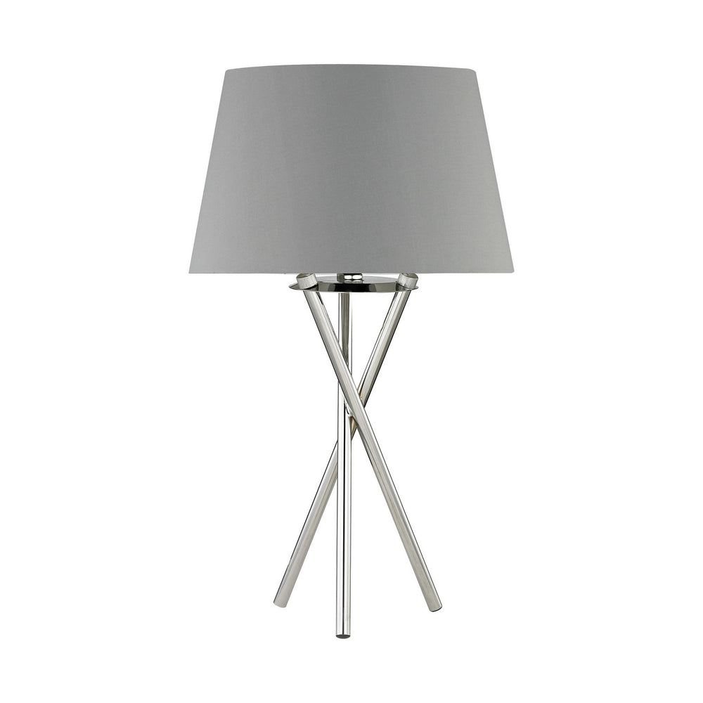 1-Light Excelsius Table Lamp Polished Nickel