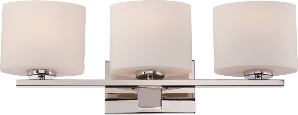 "24""W Breeze 2-Light Vanity & Wall Polished Nickel"