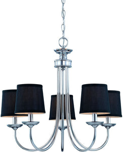 0-005935>Spencer 5-Light Chandelier Chrome