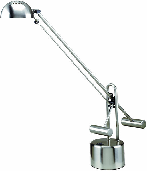 "29""h Halotech LED Desk Lamp Polished Steel"