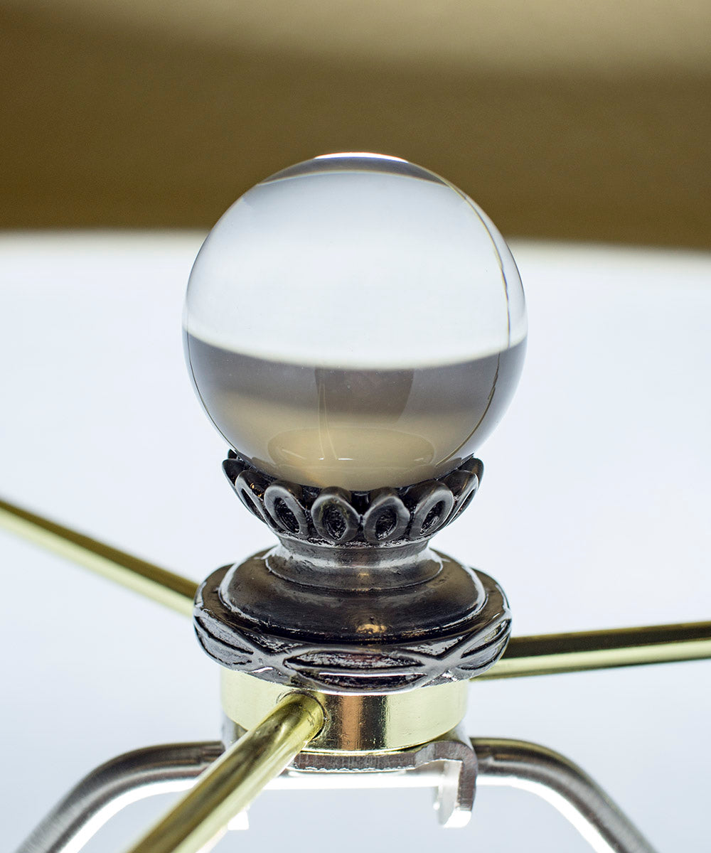 "2""H Smooth Acrylic Ball Finial"