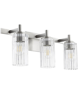 3-light Bath Vanity Light Satin Nickel