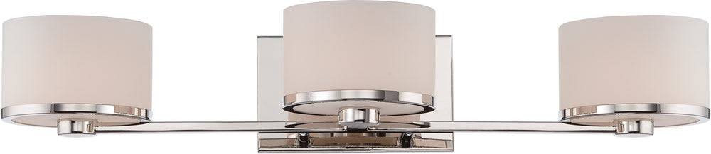 "26""W Celine 3-Light Vanity & Wall Polished Nickel"