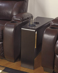 Carlyle Chair Side End Table Almost Black