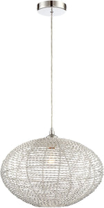 0-002175>Faviola 1-light Pendant Chrome