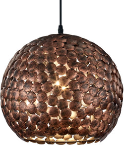 0-001618>Frieda 1-Light  Pendant Old Brass