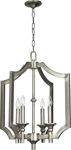 0-001518>Lisbon 4-Light Foyer Light Antique Nickel