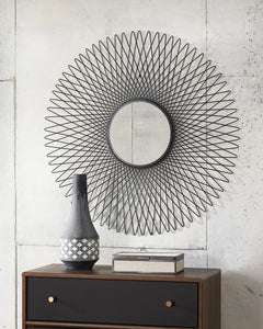 Dooley Accent Mirror Black
