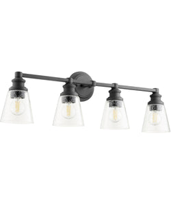 Dunbar 4-light Bath Vanity Light Noir