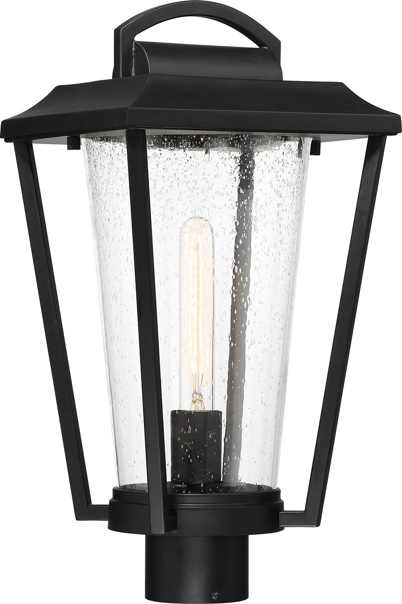 "18""H Lakeview 1-Light Outdoor Aged Bronze / Clear"